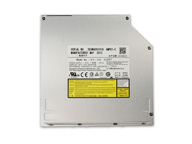 Panasonic UJ267 Ultraslim 9.5mm SATA Slot Load Blu-ray Player Burner Drive BD-RE