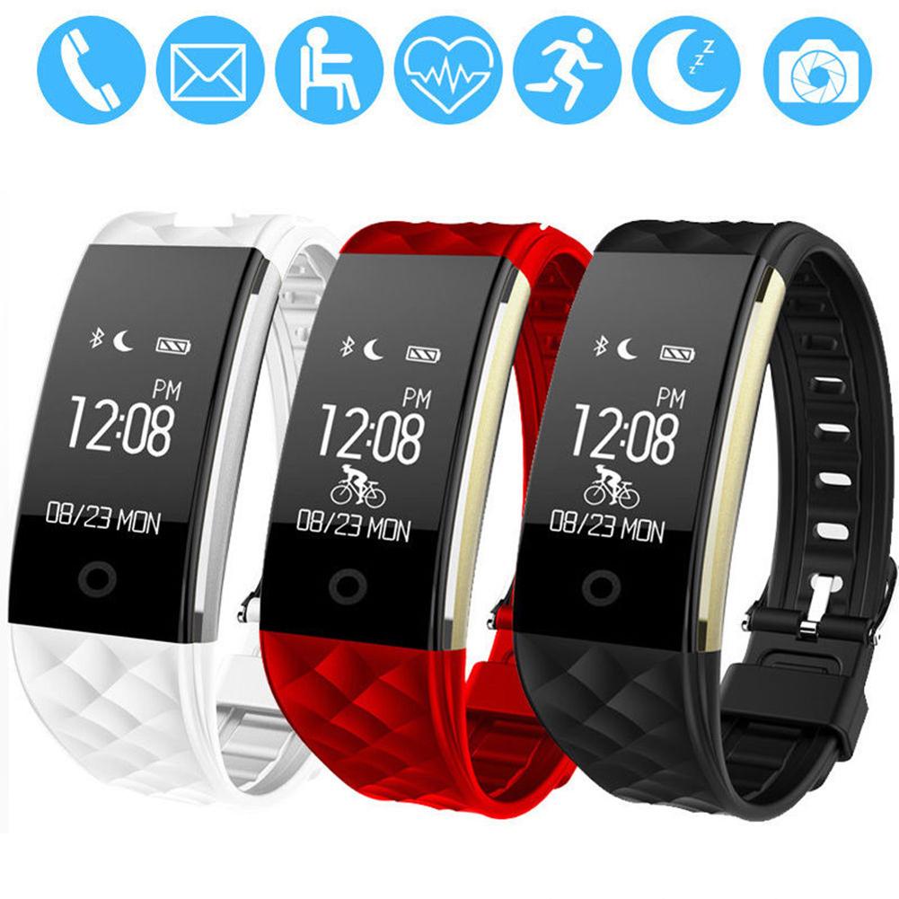 Waterproof Heart Rate GPS Smart Wristband Watch Bracelet Sport Fitness Tracker