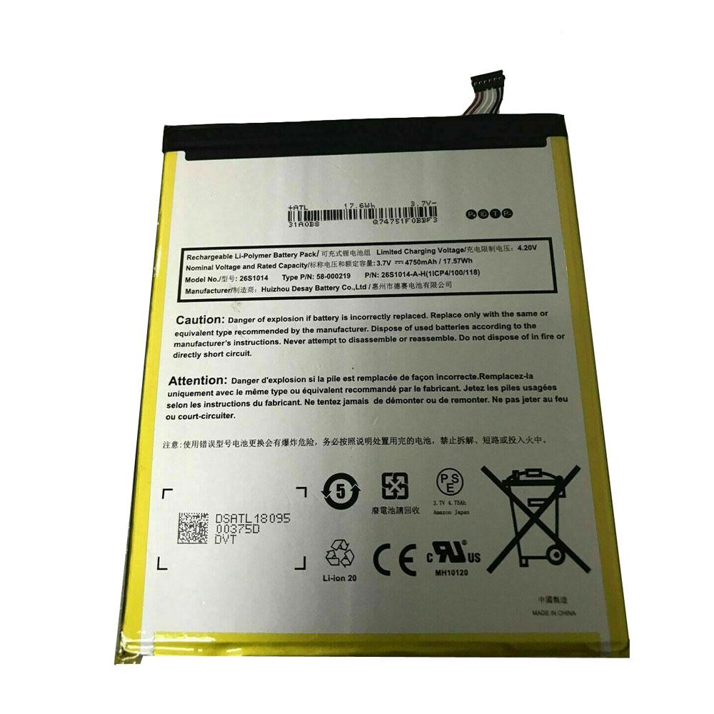 Amazon 26S1014 batterie