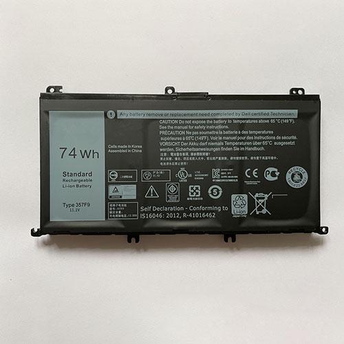 Dell 357F9 batterie
