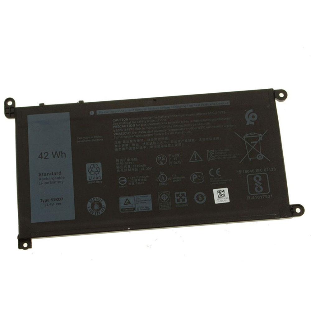 Dell 51KD7 batterie