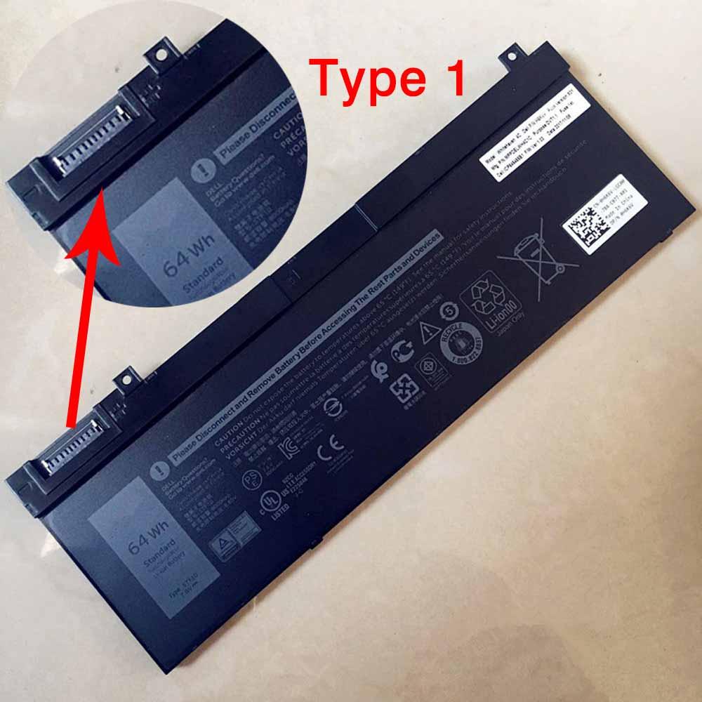 Dell 5TF10 batterie