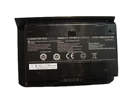 Clevo P375BAT-8 batterie
