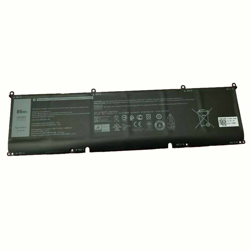Dell XPS 15 9500 2020 P87F P45E P91F batterie