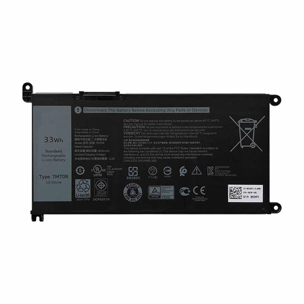 Dell 7MTOR batterie