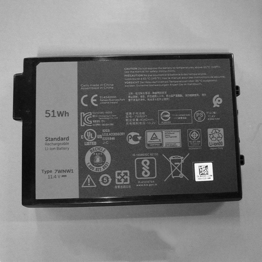DELL 7WNW1 batterie
