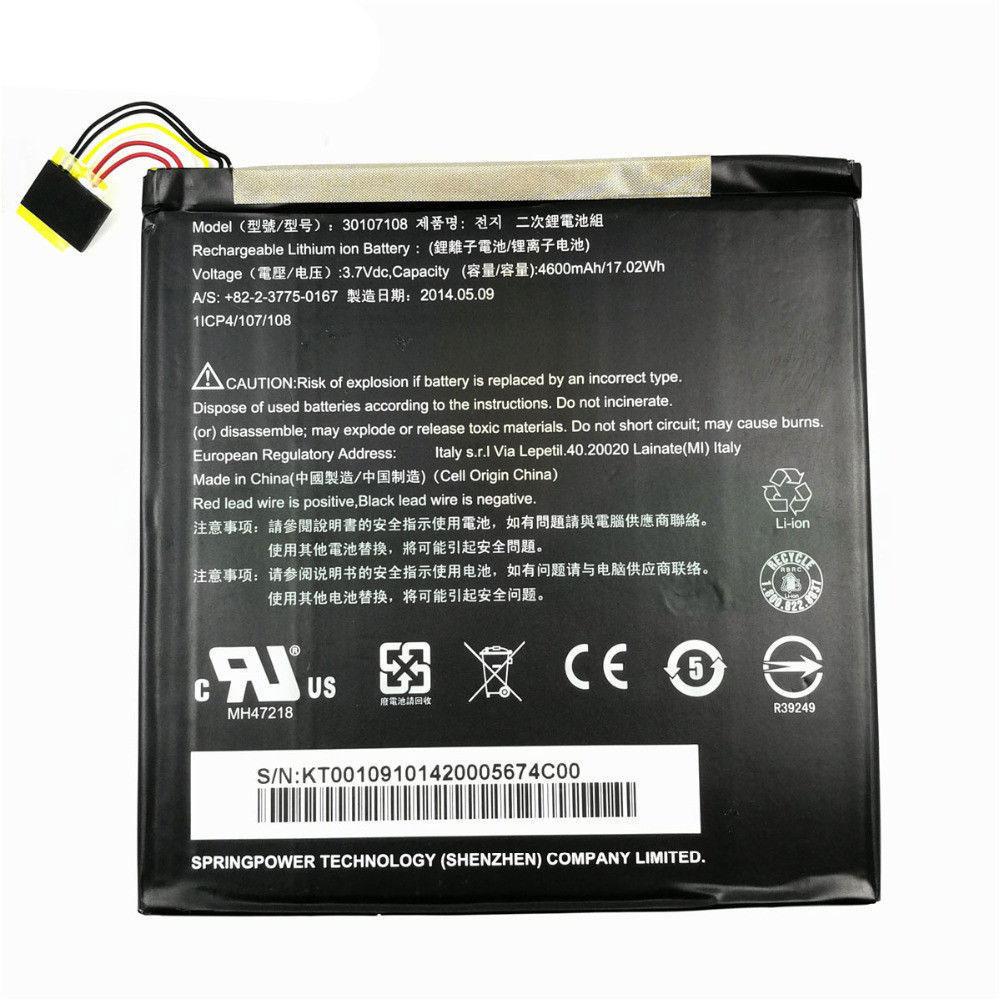 Acer 30107108 batterie