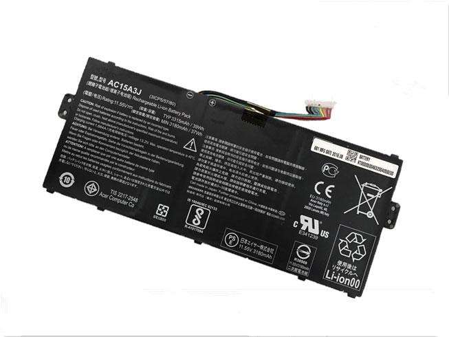 Batterie Acer AC15A3J 3315mAh/39Wh - 11.55V - Li-ion pour Acer Chromebook R11 CB5-132T CB3-131 C738T C735