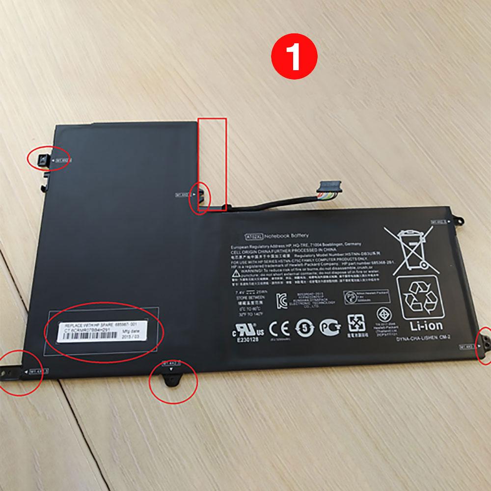 HP AO02XL batterie