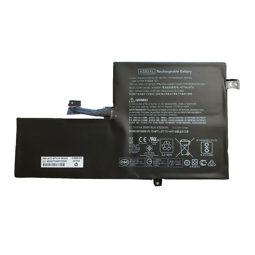 HP AS03XL batterie