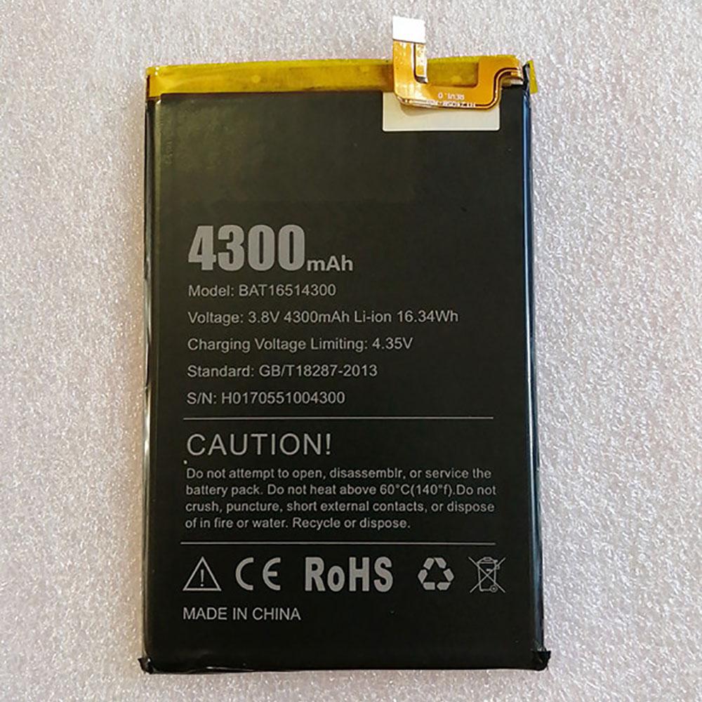 DOOGEE BAT16514300 batterie