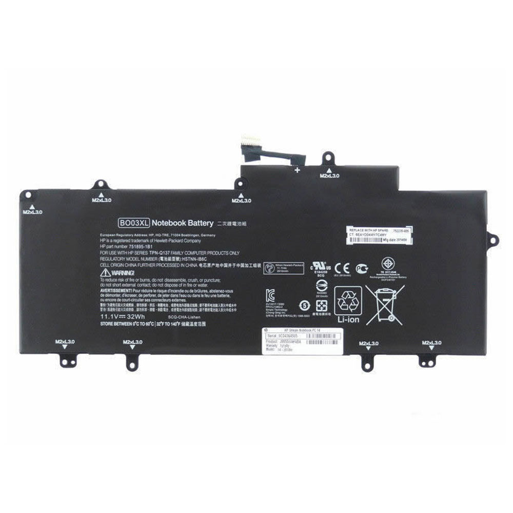HP BO03XL batterie
