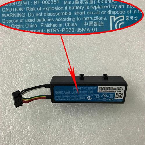 Zebra BT-000351 batterie