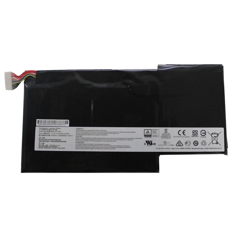 MSI GS63VR GS73VR 6RF 001US BP 16K1 31 9N793J200 batterie
