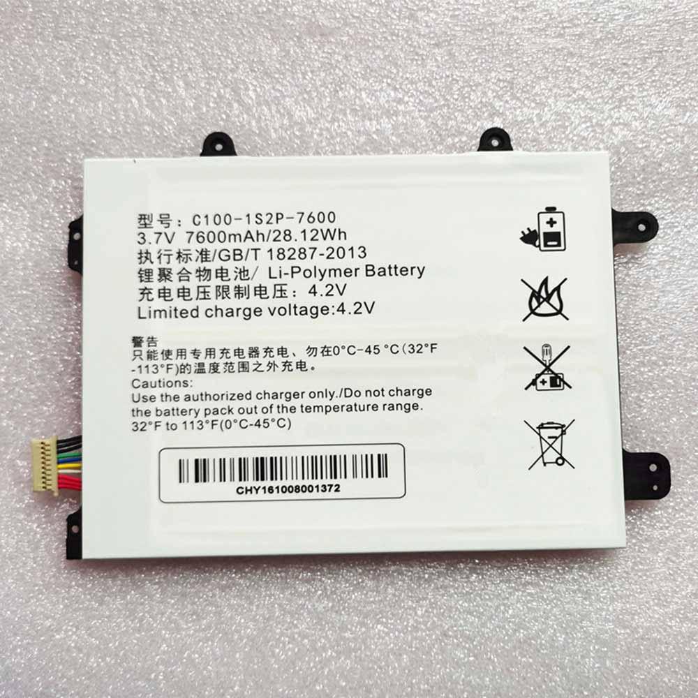 Clevo C100-1S2P-7600 batterie