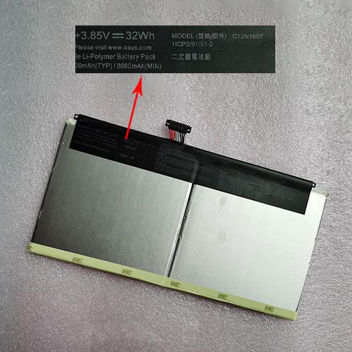 ASUS C12N1607 batterie