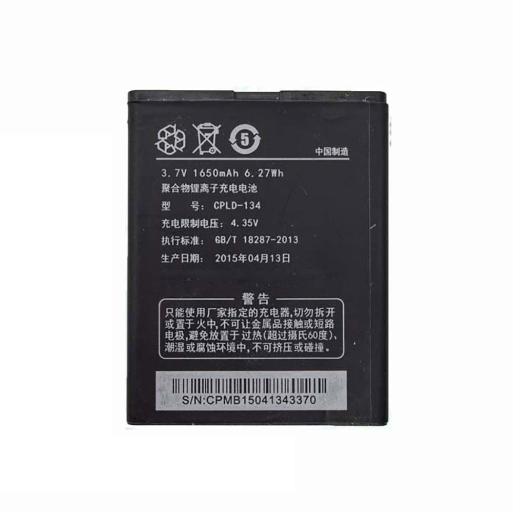 Coolpad CPLD-134 batterie