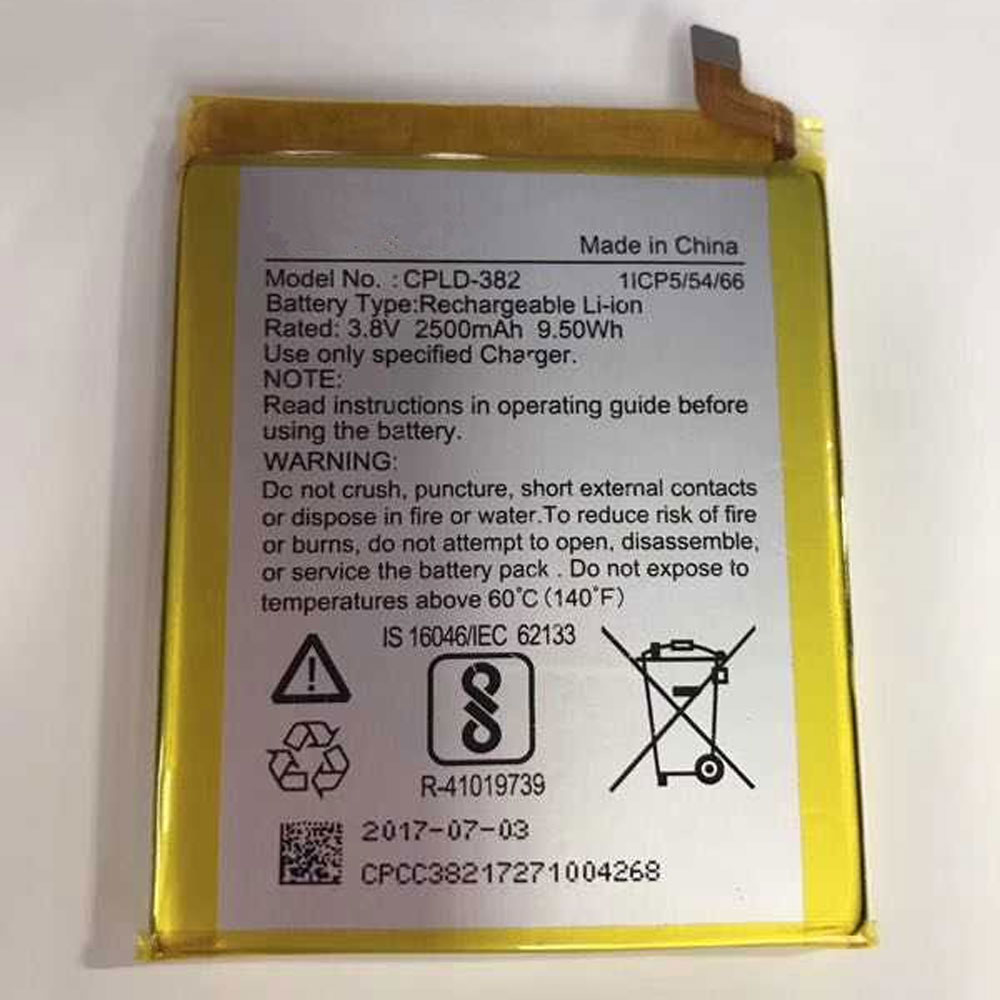 Coolpad CPLD-382 batterie