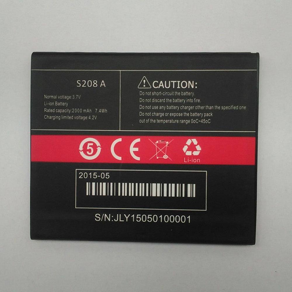 Cubot S208A batterie