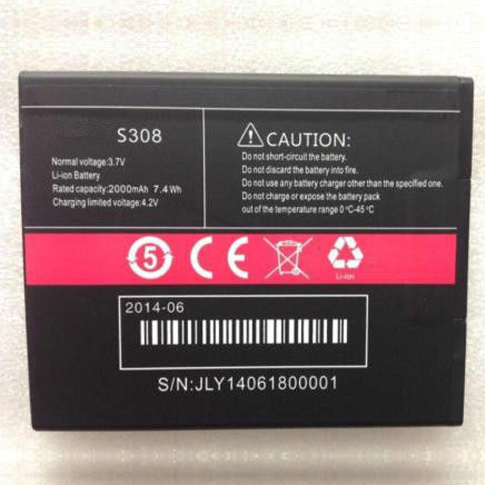 Cubot S308 batterie