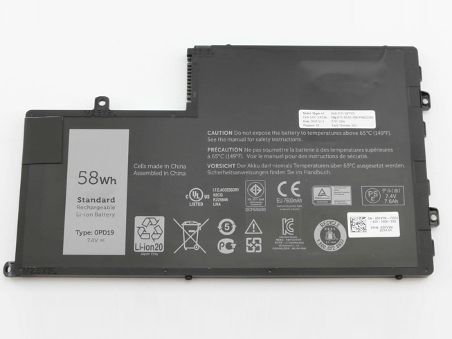 Dell 0PD19 batterie