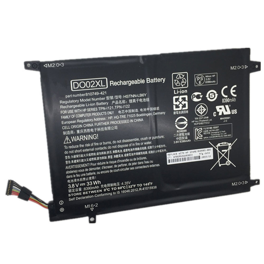 HP DO02XL batterie