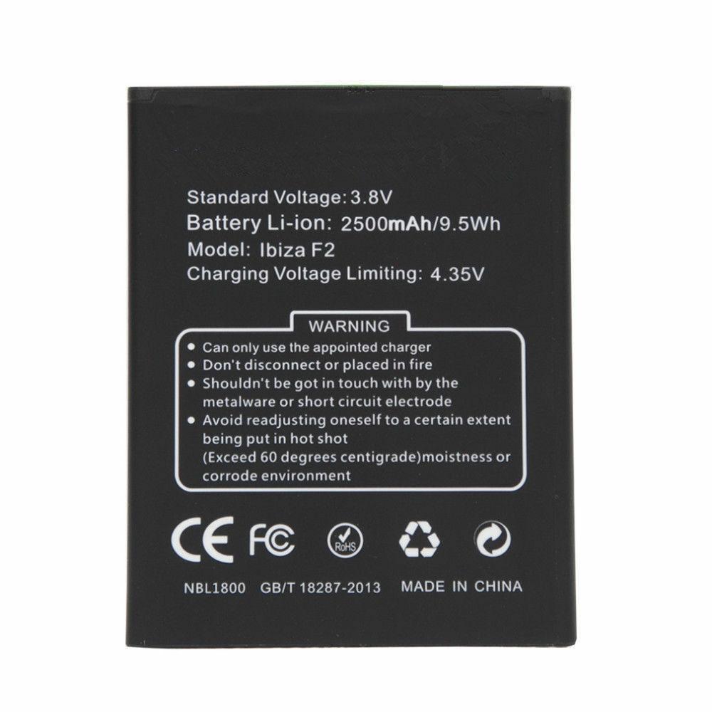 DOOGEE F2 batterie
