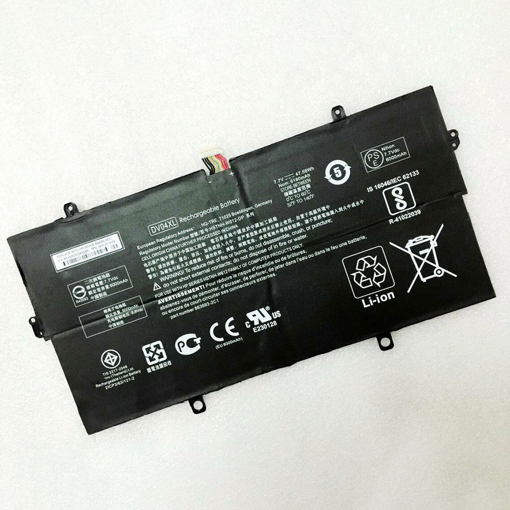 HP DV04XL batterie