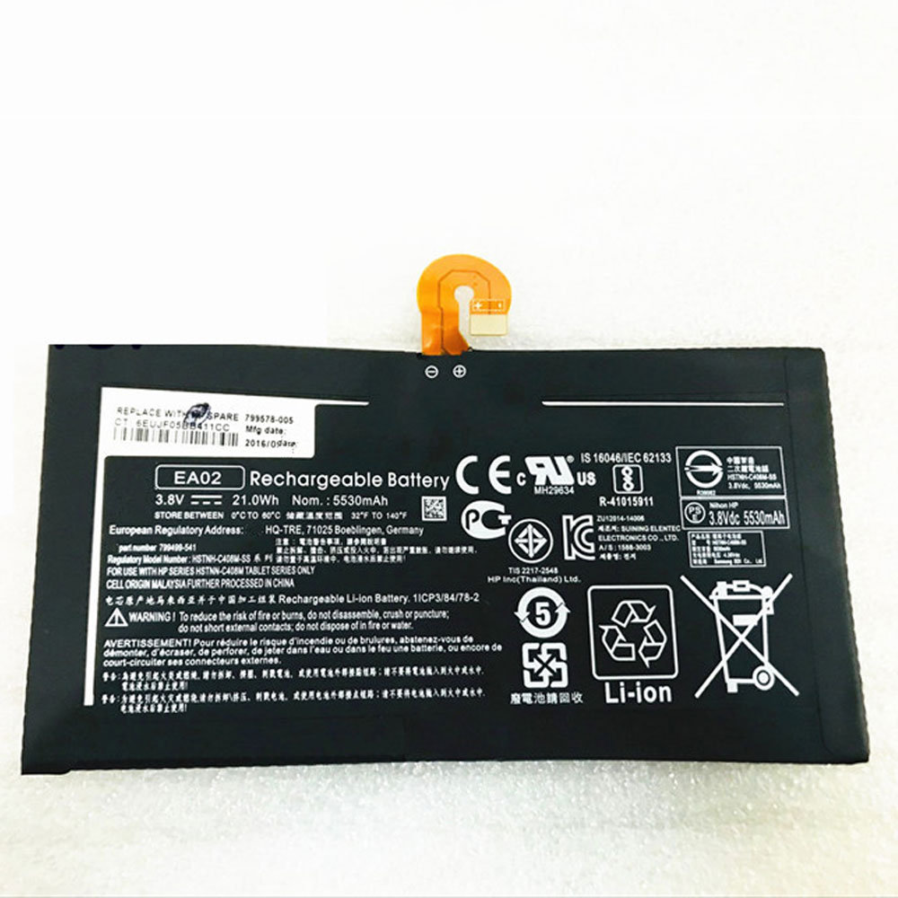 HP EA02 batterie