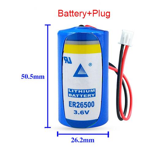 LISUN ER26500 batterie