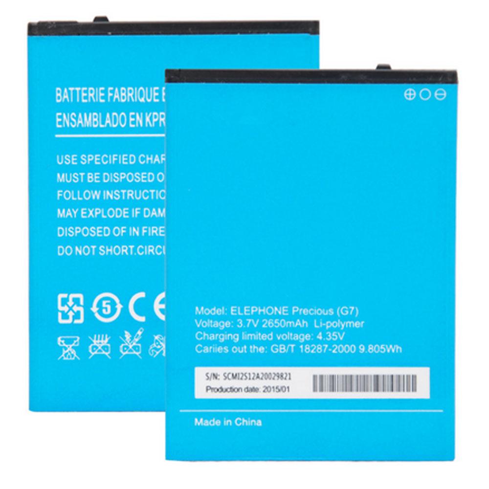 Elephone G7 batterie