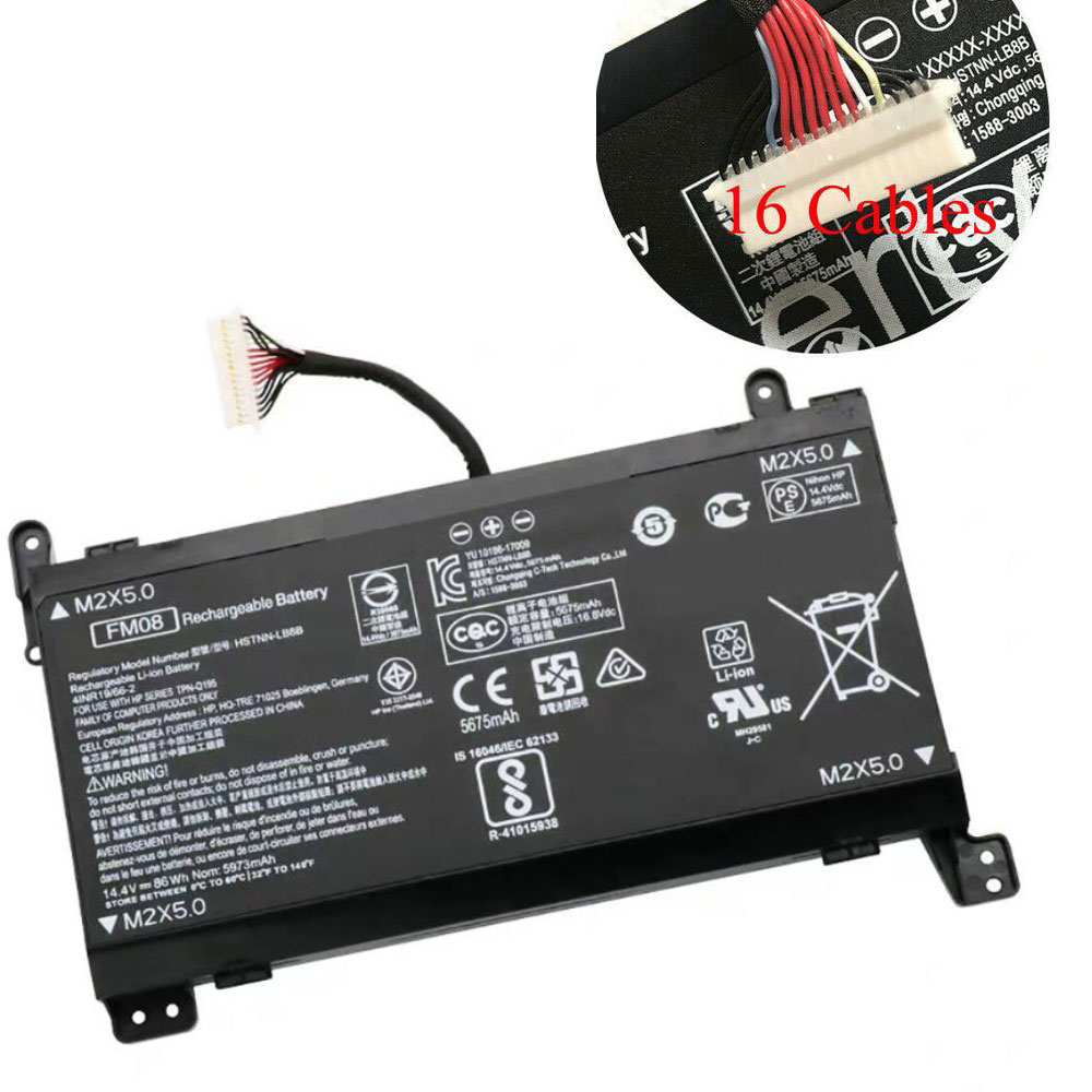 HP FM08 batterie