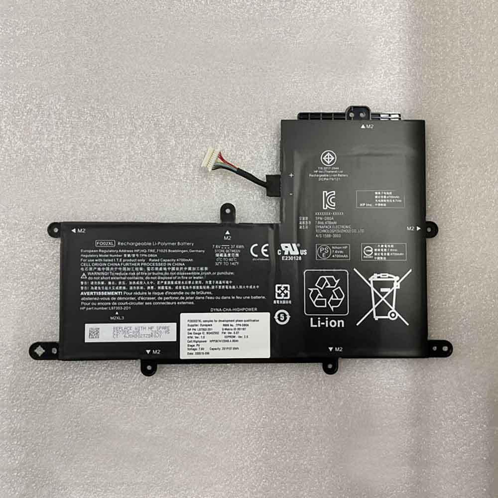 HP FO02XL batterie