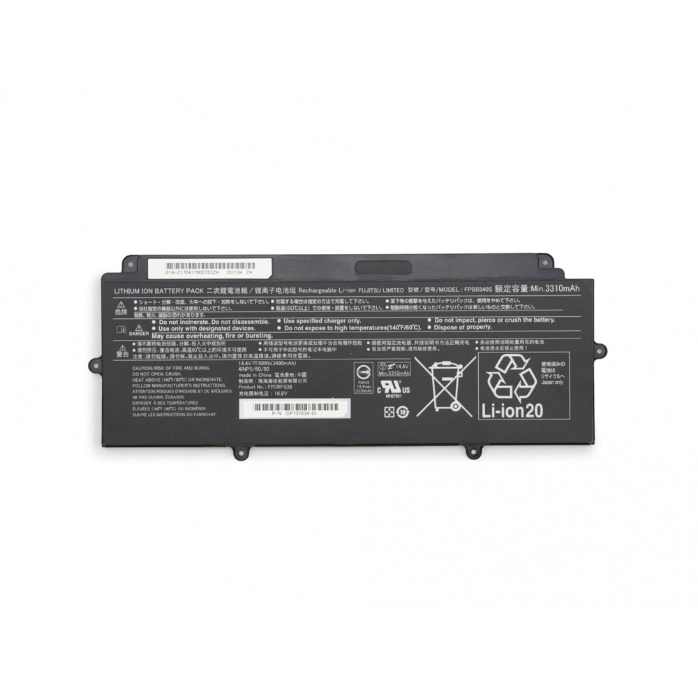 Fujitsu FPCBP536 batterie