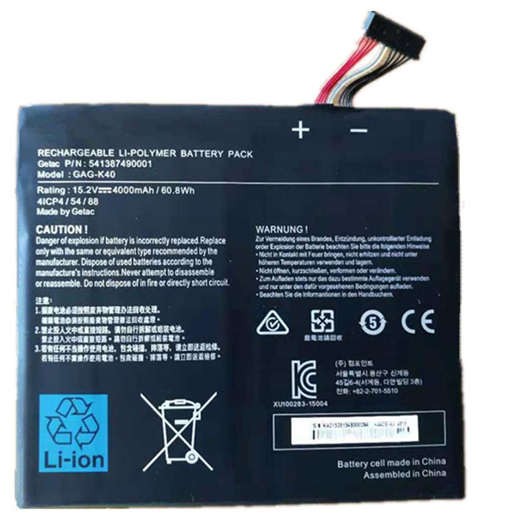 Getac GAG-K40 batterie