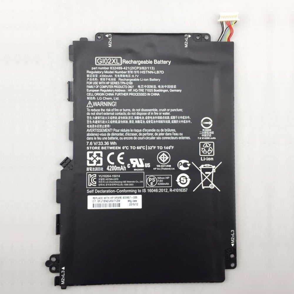 HP GI02XL batterie
