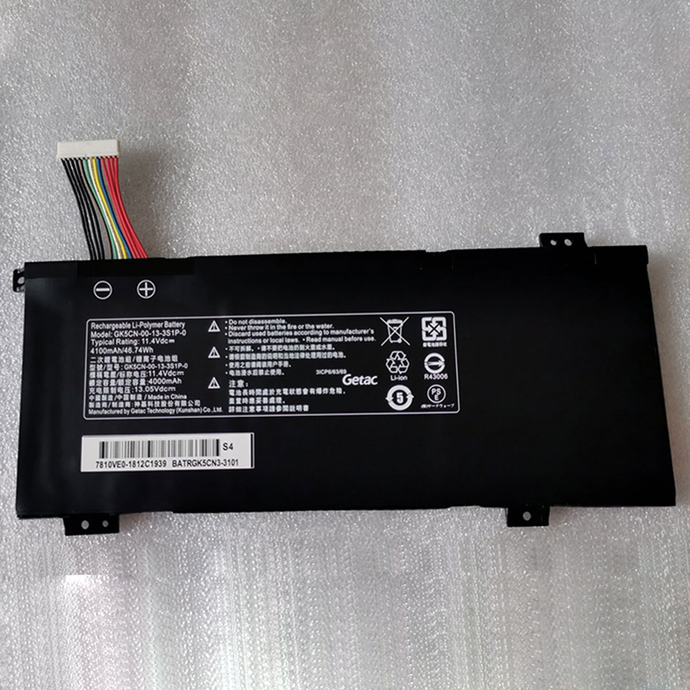 Getac GK5CN5Z GK7CN6S GK5CN 11 16 3S1P 0 batterie