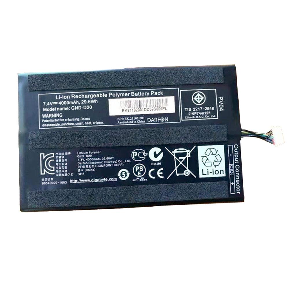 Gigabyte GND-D20 batterie