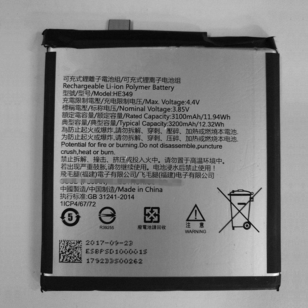 Sharp HE349 batterie
