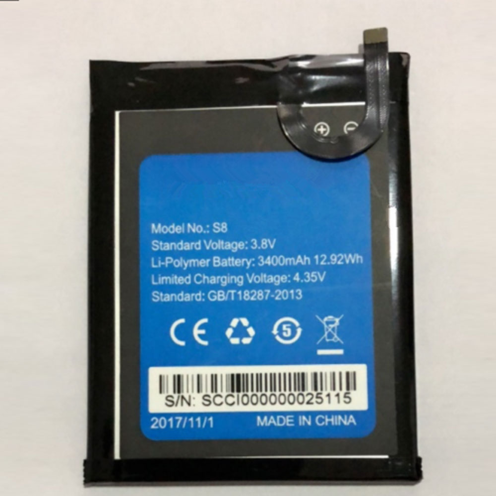 HOMTOM S8 batterie