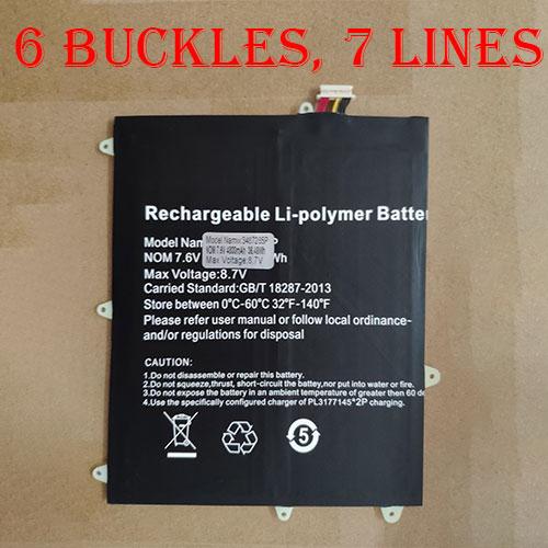 TREKSTOR HW-3487265 batterie