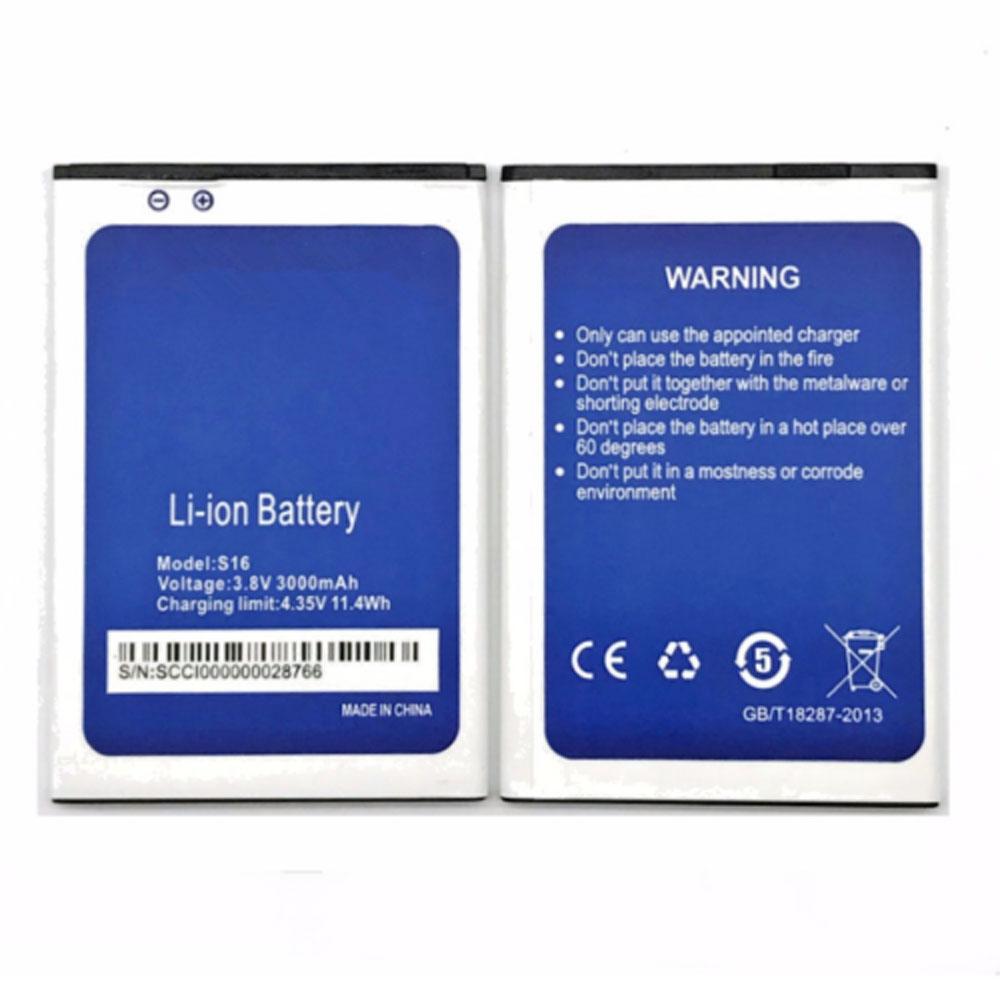 HOMTOM S16 batterie