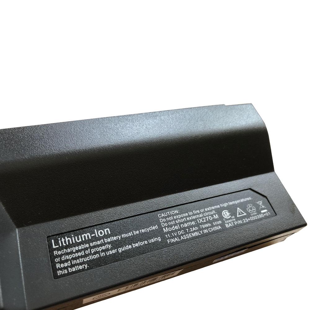 79Wh/7200mAh Itronix GoBook XR-1 IX270 IX270-010 GD8000 de remplacement pour Itronix IX270-M Batterie