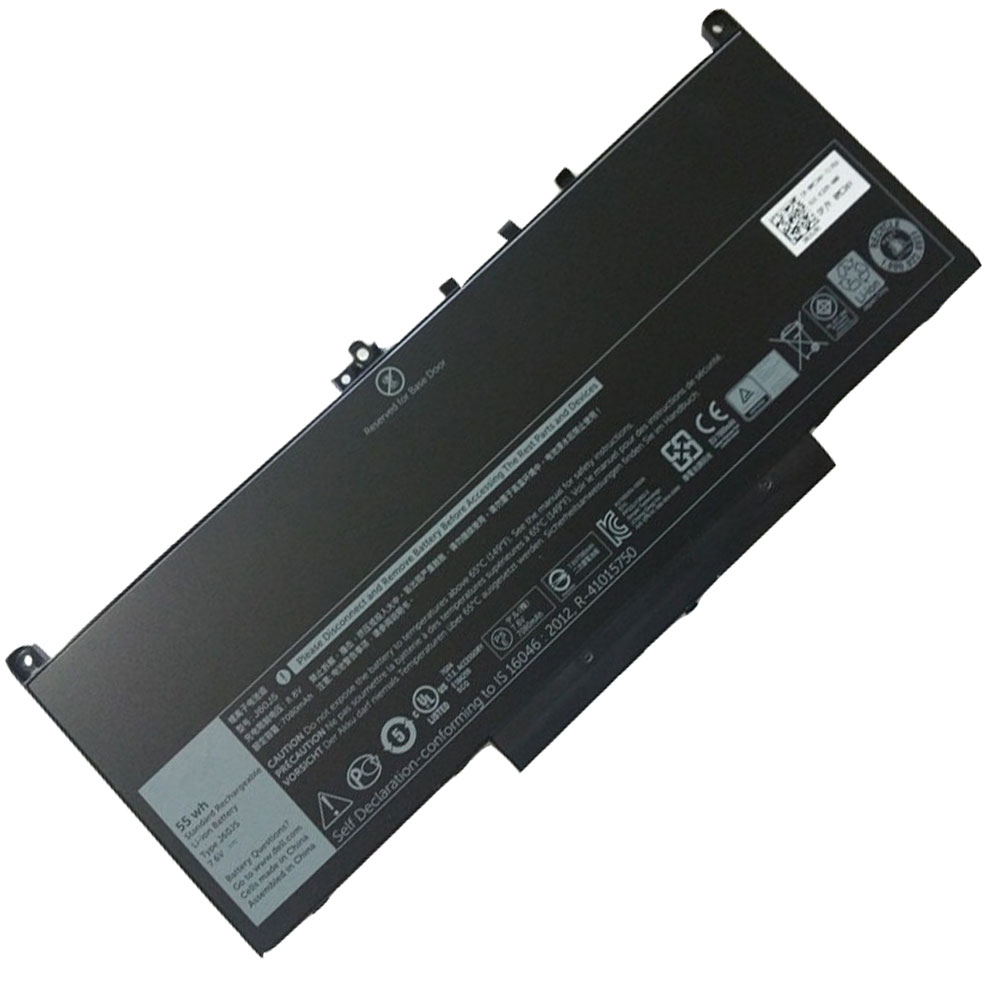 Dell Latitude E7270 E7470 MC34Y batterie