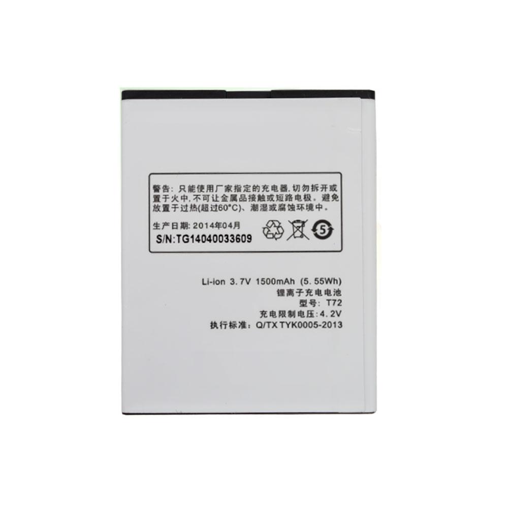 K-Touch T72 batterie