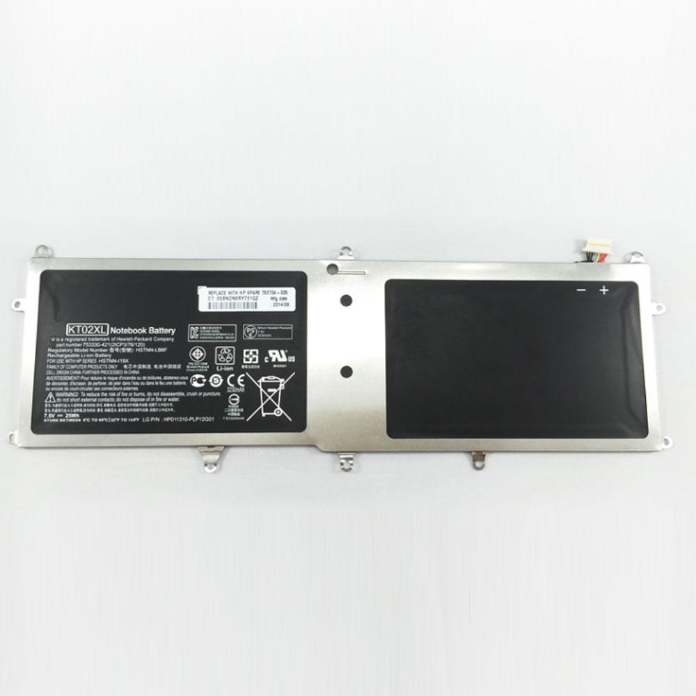 HP KT02XL batterie