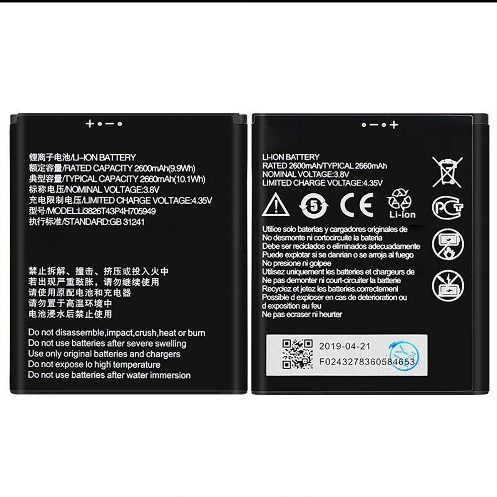 ZTE Li3826T43P4h705949 batterie