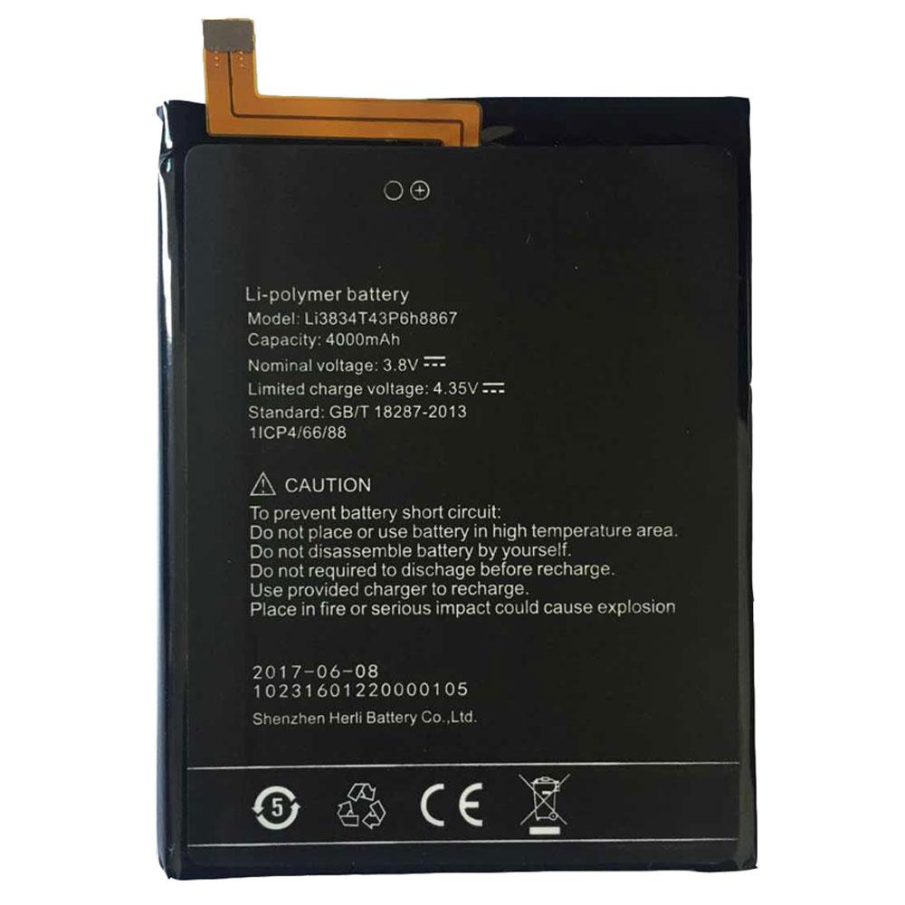 UMI Li3834T43p6H8867 batterie