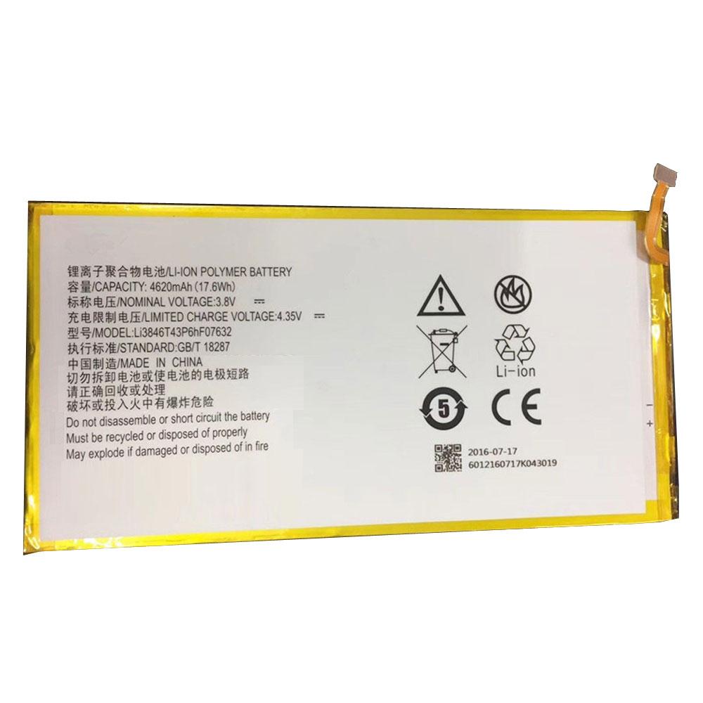 ZTE Li3846T43P6hF07632 batterie
