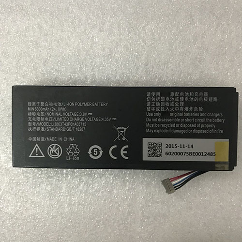 ZTE Li3863T43P6hA03715 batterie